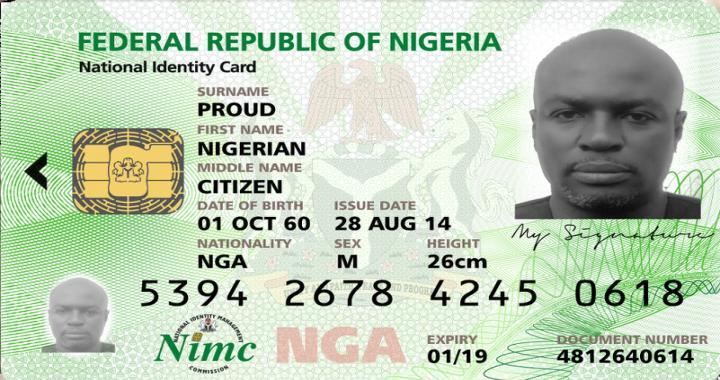 Image result for national Identity card
